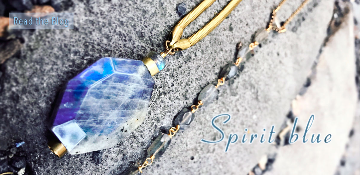 New Spirit Blue collection with labradorite
