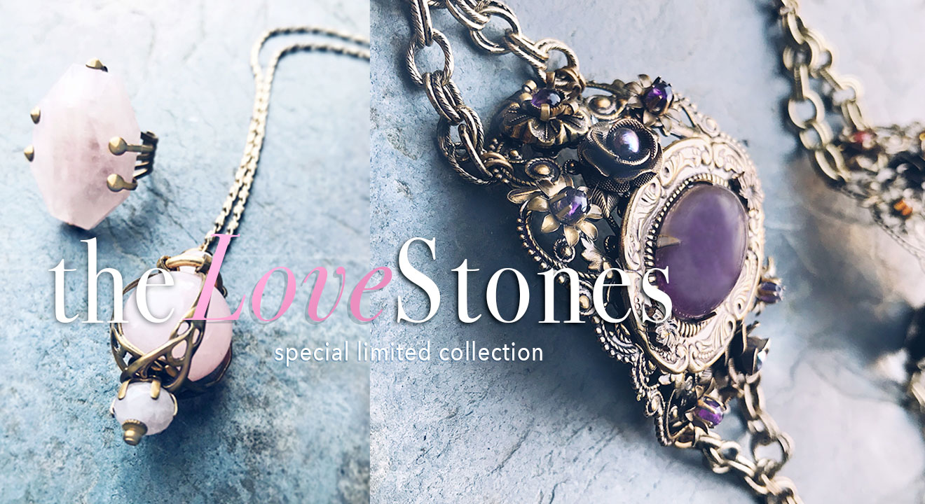 New Love Stones collection to connect with our heart chakras to usher in more compassion, self-love and healing